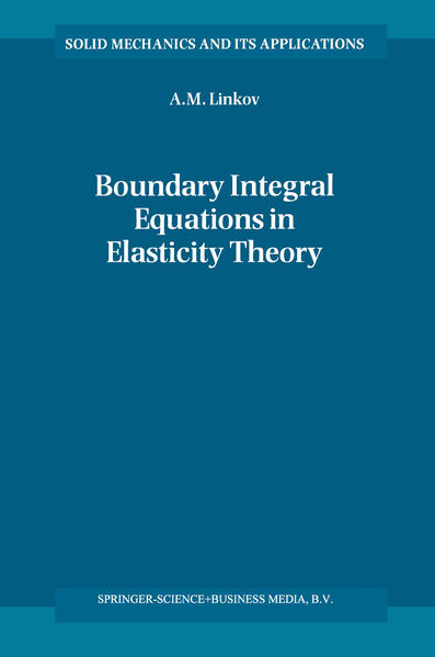 Boundary Integral Equations in Elasticity Theory - Coverbild