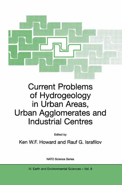 Current Problems of Hydrogeology in Urban Areas, Urban Agglomerates and Industrial Centres - Coverbild