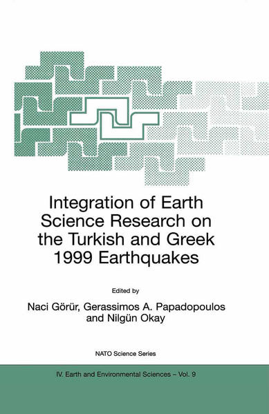 Integration of Earth Science Research on the Turkish and Greek 1999 Earthquakes - Coverbild