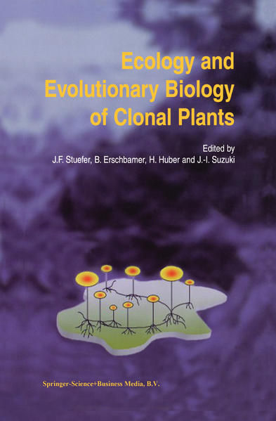 Ecology and Evolutionary Biology of Clonal Plants - Coverbild