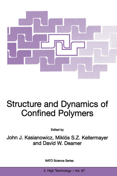 Structure and Dynamics of Confined Polymers - Coverbild