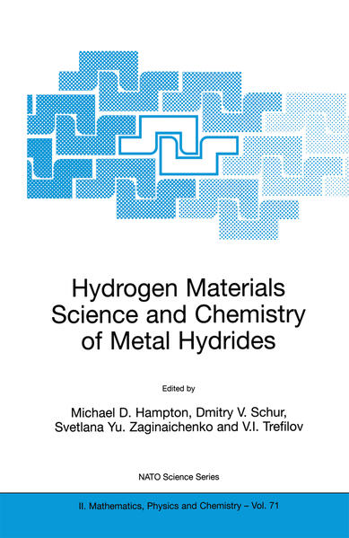 Hydrogen Materials Science and Chemistry of Metal Hydrides - Coverbild