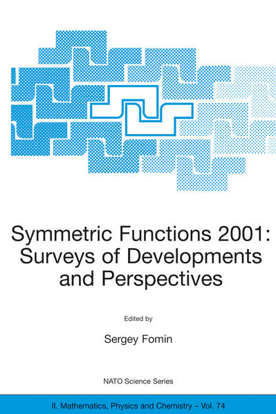 Symmetric Functions 2001: Surveys of Developments and Perspectives - Coverbild