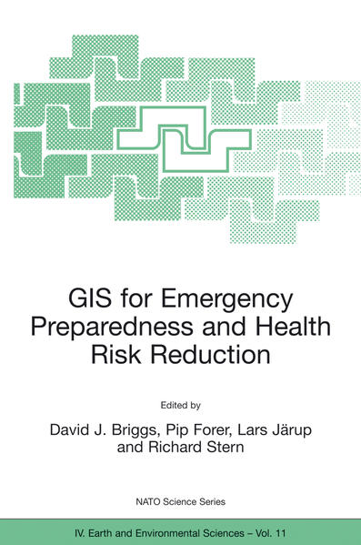 GIS for Emergency Preparedness and Health Risk Reduction - Coverbild