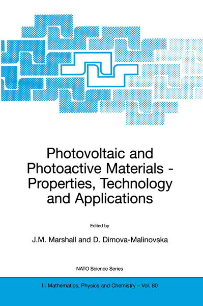 Photovoltaic and Photoactive Materials - Coverbild