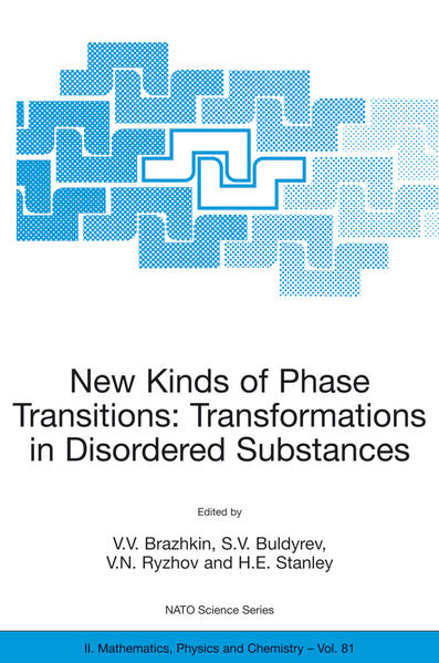 New Kinds of Phase Transitions: Transformations in Disordered Substances - Coverbild