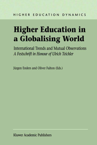 Higher Education in a Globalising World - Coverbild