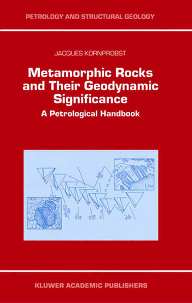 Metamorphic Rocks and Their Geodynamic Significance - Coverbild