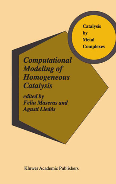 Computational Modeling of Homogeneous Catalysis - Coverbild