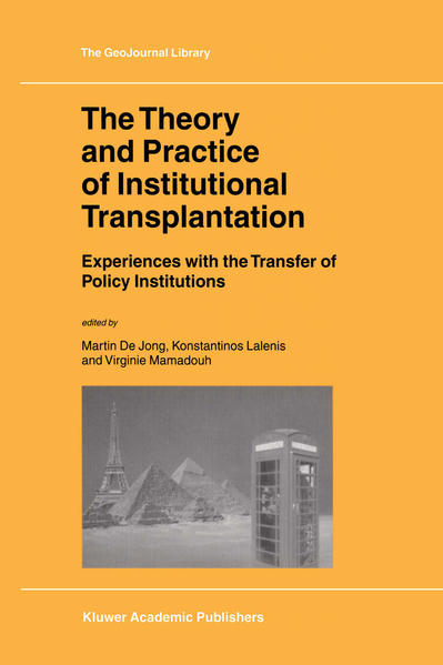 The Theory and Practice of Institutional Transplantation - Coverbild