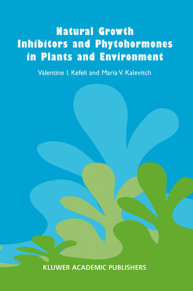 Natural Growth Inhibitors and Phytohormones in Plants and Environment - Coverbild