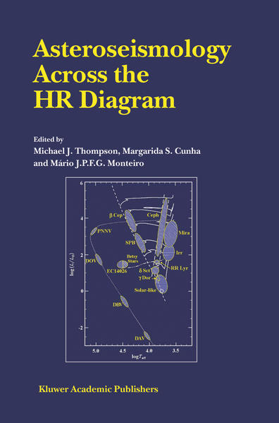 Asteroseismology Across the HR Diagram - Coverbild