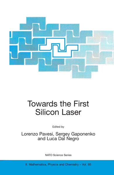 Towards the First Silicon Laser - Coverbild