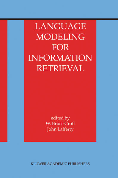 Language Modeling for Information Retrieval - Coverbild