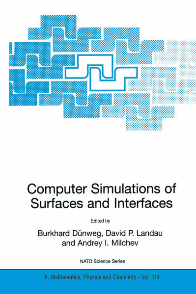 Computer Simulations of Surfaces and Interfaces - Coverbild