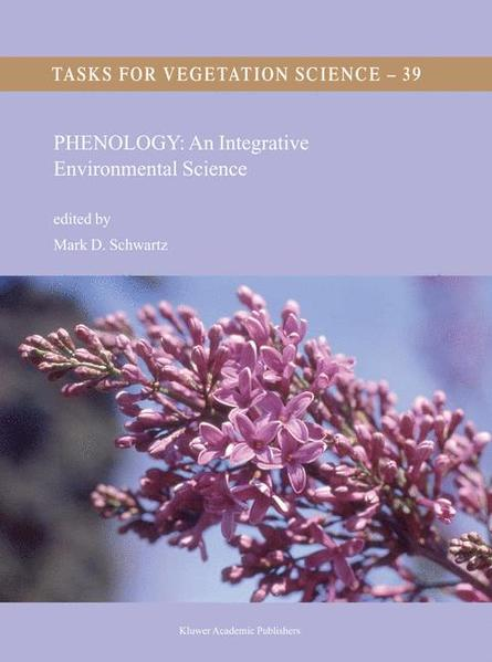 Phenology: An Integrative Environmental Science - Coverbild