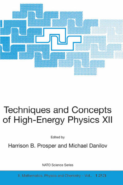 Techniques and Concepts of High-Energy Physics XII - Coverbild