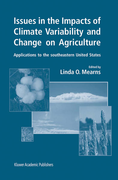 Issues in the Impacts of Climate Variability and Change on Agriculture - Coverbild