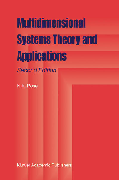 Multidimensional Systems Theory and Applications - Coverbild