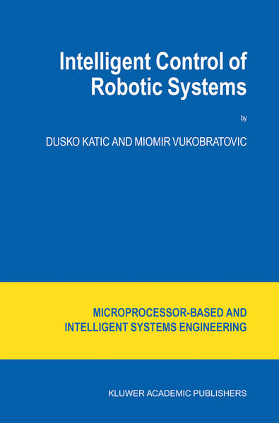 Intelligent Control of Robotic Systems - Coverbild