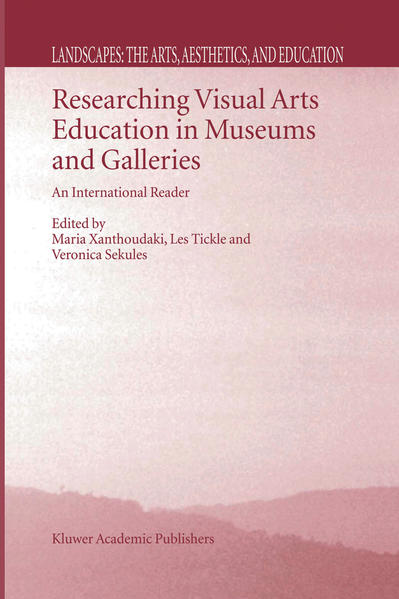 Researching Visual Arts Education in Museums and Galleries - Coverbild