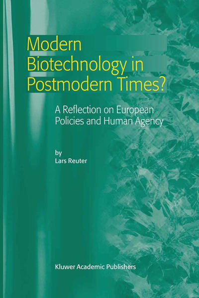 Modern Biotechnology in Postmodern Times? - Coverbild