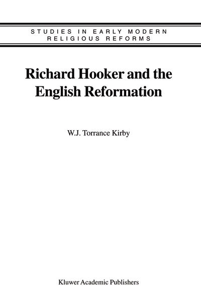 Richard Hooker and the English Reformation - Coverbild