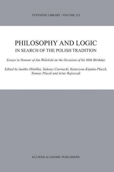Philosophy and Logic In Search of the Polish Tradition - Coverbild