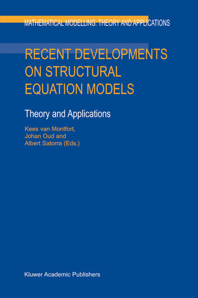 Recent Developments on Structural Equation Models - Coverbild
