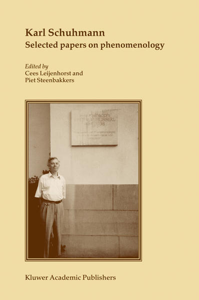 Karl Schuhmann, Selected papers on phenomenology - Coverbild