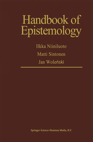 Handbook of Epistemology - Coverbild