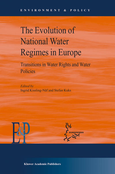 The Evolution of National Water Regimes in Europe - Coverbild