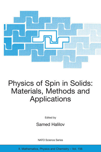 Physics of Spin in Solids: Materials, Methods and Applications - Coverbild