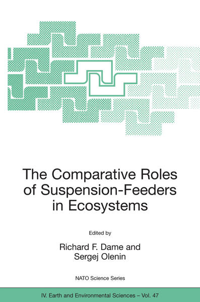 The Comparative Roles of Suspension-Feeders in Ecosystems - Coverbild