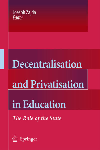 Decentralisation and Privatisation in Education - Coverbild