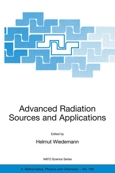 Advanced Radiation Sources and Applications - Coverbild