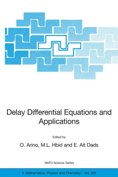 Delay Differential Equations and Applications - Coverbild