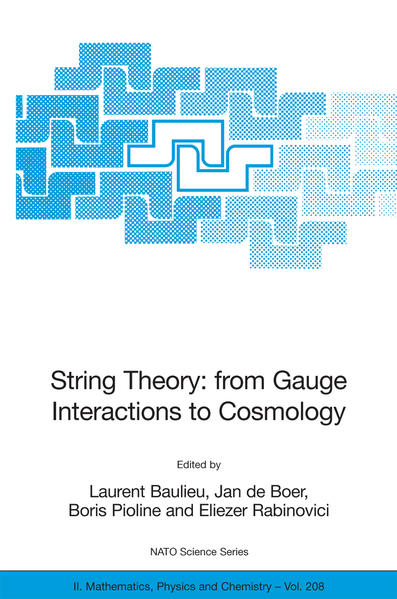 String Theory: From Gauge Interactions to Cosmology - Coverbild
