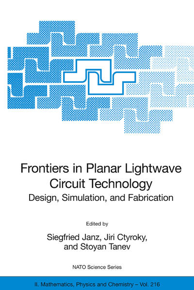 Frontiers in Planar Lightwave Circuit Technology - Coverbild