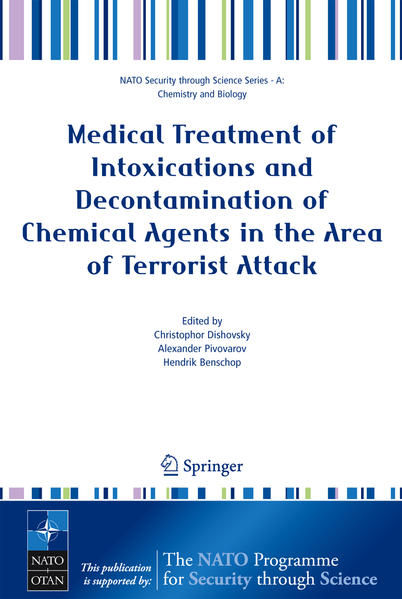 Medical Treatment of Intoxications and Decontamination of Chemical Agents in the Area of Terrorist Attack - Coverbild