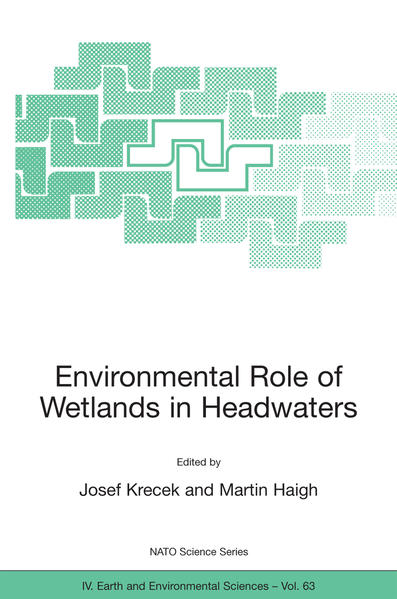 Environmental Role of Wetlands in Headwaters - Coverbild