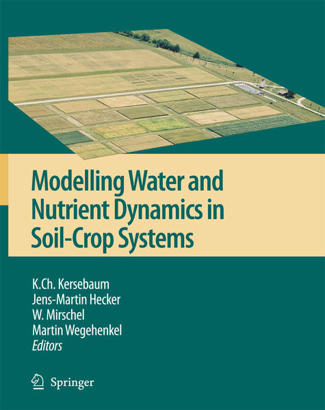 Modelling water and nutrient dynamics in soil-crop systems - Coverbild