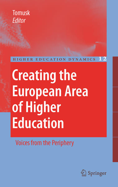 Kostenloser Download Creating the European Area of Higher Education PDF