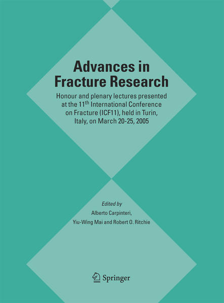 Advances in Fracture Research - Coverbild