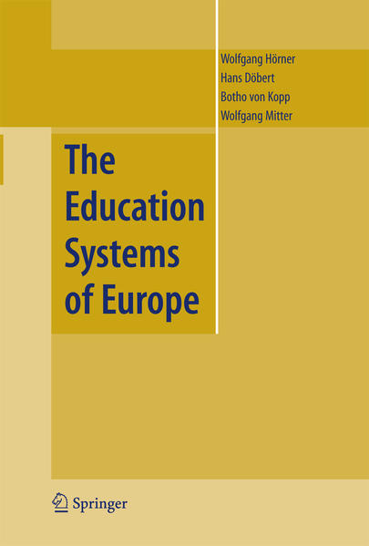 The Education Systems of Europe - Coverbild