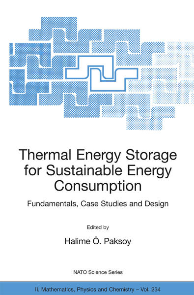 Thermal Energy Storage for Sustainable Energy Consumption - Coverbild