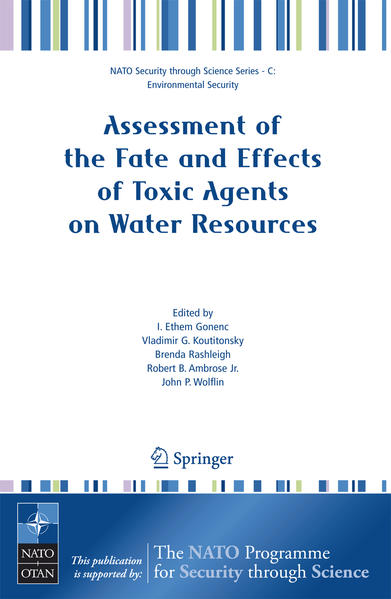 Assessment of the Fate and Effects of Toxic Agents on Water Resources - Coverbild