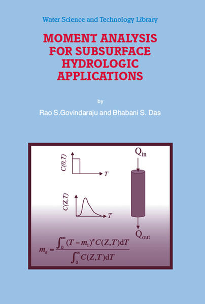 Moment Analysis for Subsurface Hydrologic Applications - Coverbild