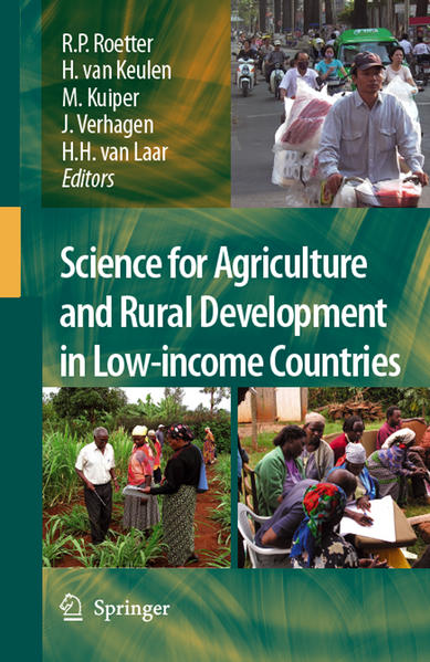 Science for Agriculture and Rural Development in Low-income Countries - Coverbild