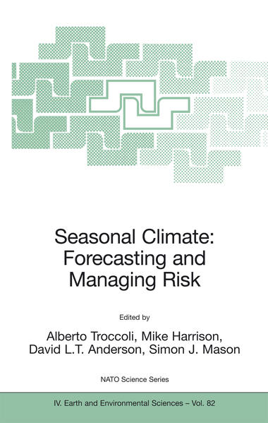 Seasonal Climate: Forecasting and Managing Risk - Coverbild